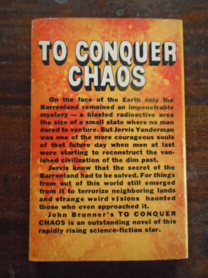 John Brunner - TO CONQUER CHAOS