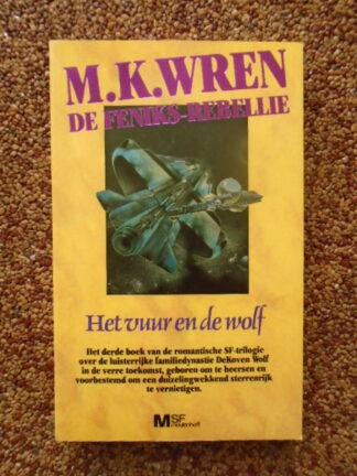 M.K. Wren - Het vuur en de wolf