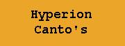 Hyperion Canto's - Dan Simmons